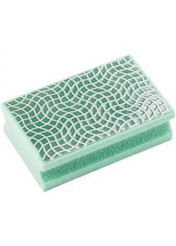 Slip pad - Häst - diamant - kornstorlek 251 - grön