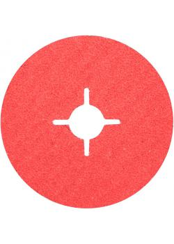 Fiberscheibe - PFERD - Keramikkorn CO-COOL - D x H 115 / 180 bis 22 mm - Korngröße 24 bis 120 - Preis per Stück