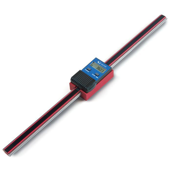 Digitaler Präzisionsmessschieber - mit RS-232-Schnittstelle - Messrichtung vertikal - max. Messbereich 200 bis 500 mm