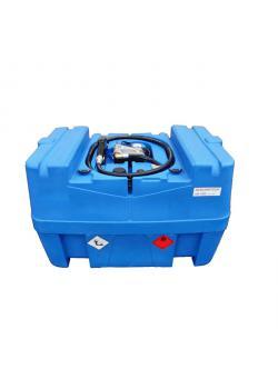 Mobil Bränletank - 400 liter - för diesel - 40 l/min - Spänning 24V DC