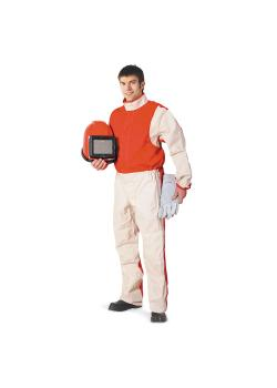 Light sandblasting suit - sailcloth and cotton - size 50 (S) to 60 (XXXL)