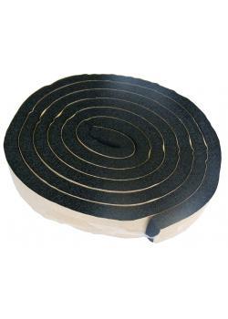 Tätnings skumgummi - tjocklek 11 mm - 2000 mm längd