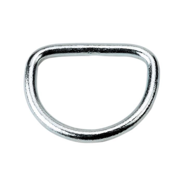 D-ring - galvaniserad - tjocklek 8 mm - längd 40 till 70 mm
