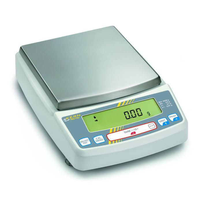 Waage - max. Wägebereich 620 bis 8200 g - eichzugelassen - Single-Cell-Wägesystem