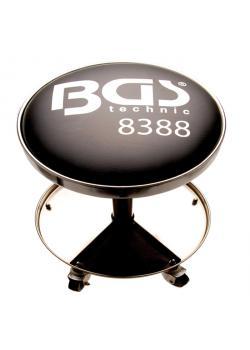 Werkstatt-Arbeitssitz - max. Belastbarkeit 90 kg - mit 5 Rollen