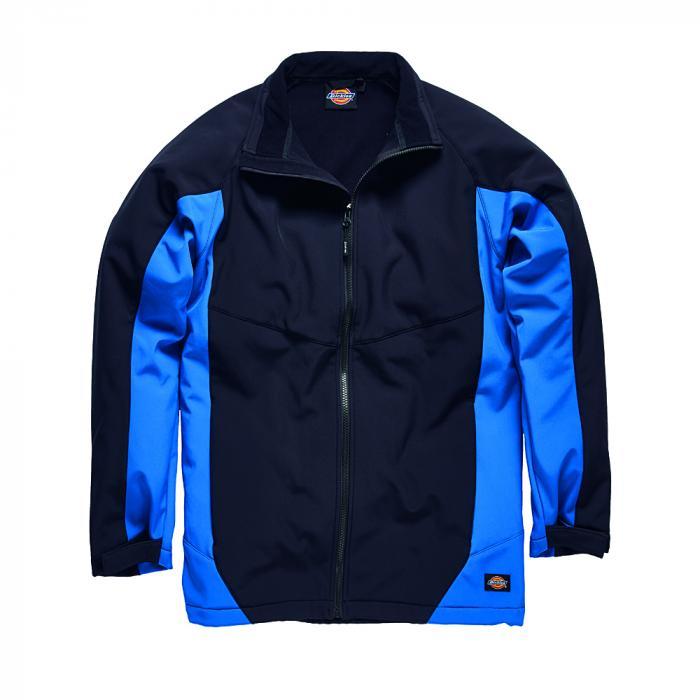 Maywood softshelljacka - Dickies - storlekar S till 4XL - marinblå / kungblå