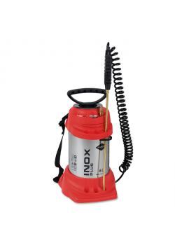 "High pressure sprayer ""INOX PLUS"" - with FPM seal - 6 bar - filling capacity 6 l - total capacity 9 l"
