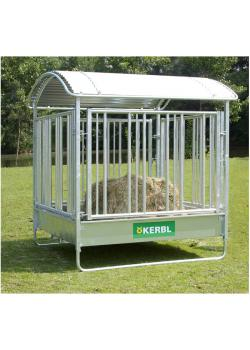 Horse quadrilateral with safety grille - width 2.12 m - length 2.12 m - height 2.5 m