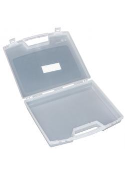 Kunststoffkoffer - Farbe transparent - 240 x 205 x 48 mm