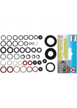 Sealing kit - for water fittings - 50 pcs.