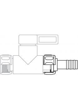 """Schlauchtüllen """"StopCock"""" -  versch. Ausführungen - 4-16 mm"""