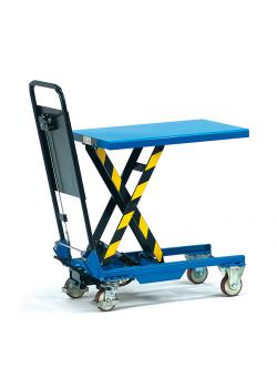 Lifting platform - tubular push handle folding - 150 kg