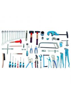 Tool assortment - 62 pieces - Sanitary-heating-air conditioning