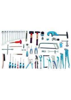 Werkzeugsortiment - 62-teilig - Sanitär-Heizung-Klimatechnik