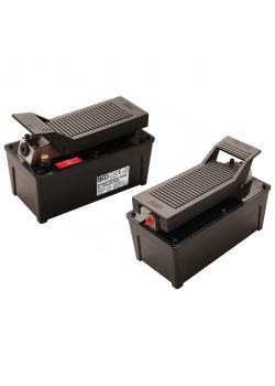 Pneumatic hydraulic pump - max. Outlet pressure 689 bar - compressed air 6.2 bar - 9.6 bar