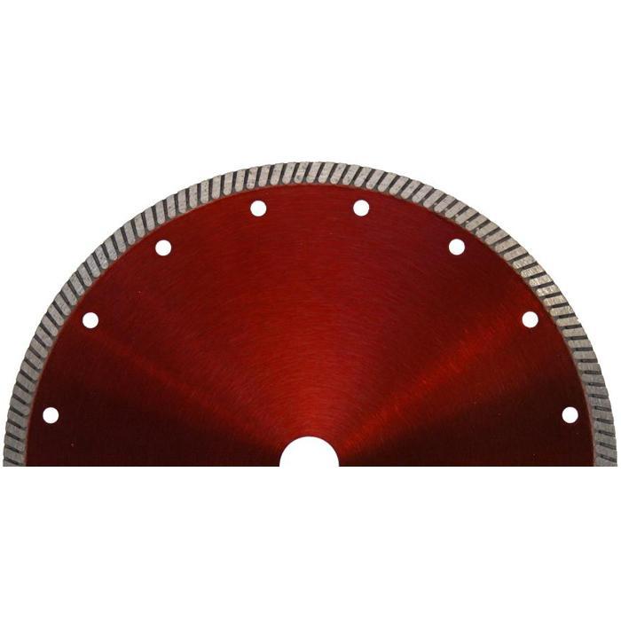 Diamantscheibe - Turbo-Segmentierung