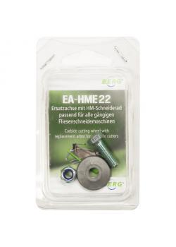 Skärhjul - för kakelskärare - diameter 20 till 22 mm