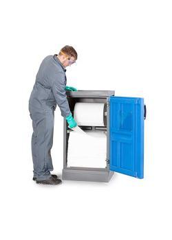 DENSORB dispenserstation S - med 1-bladig dörr - oljeversion