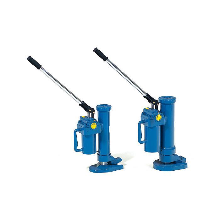 Maschinenheber - hydraulisch - 360° drehbar - blau