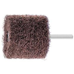 Schleifräder - PFERD POLINOX® - Schaft-Ø 6 mm - zur Konturbearbeitung - Bezeichnung PNR 6050/6 A 100 - Besatzmaße (D x T) 60 x 50 mm - Korngröße 100