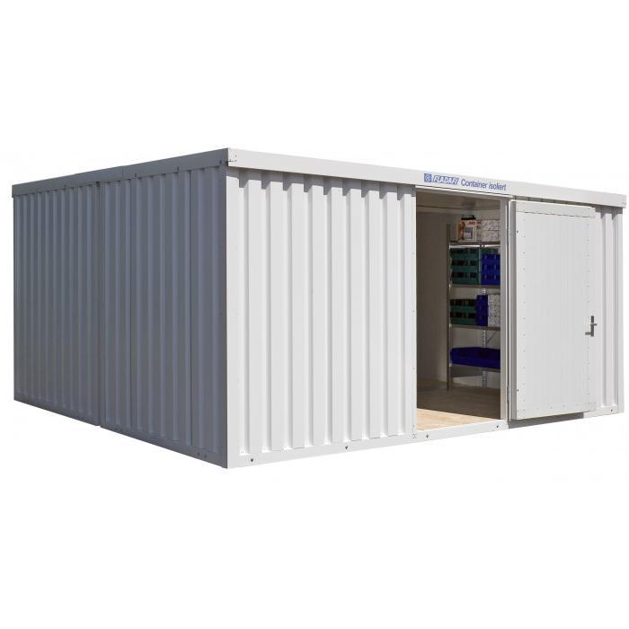 """Container - """"IC 1540"""" - isolerad - 20 m² - monterad - FLADAFI®"""
