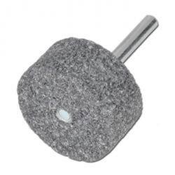 """I residui - Punti montati """"cavallo"""" - Durezza R - Carburo di Silicio - Cilindro - adesione ceramica - Ø testa x lunghezza testa 40 x 40 mm - particelle di dimensioni K24 - Shank-Ø x Lunghezza del pozzo 8 x 40 mm"""