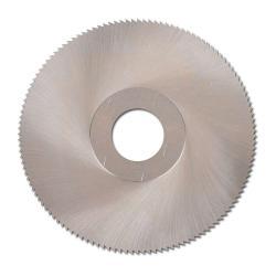Restposten - HSS-Metallkreissägeblatt - DIN 1837-A - Ø 100 mm - Breite 1,2 mm - Bohrung 22 mm - Winkelzahn,  Zähnezahl Form A 128 - für geringe Schnitttiefe