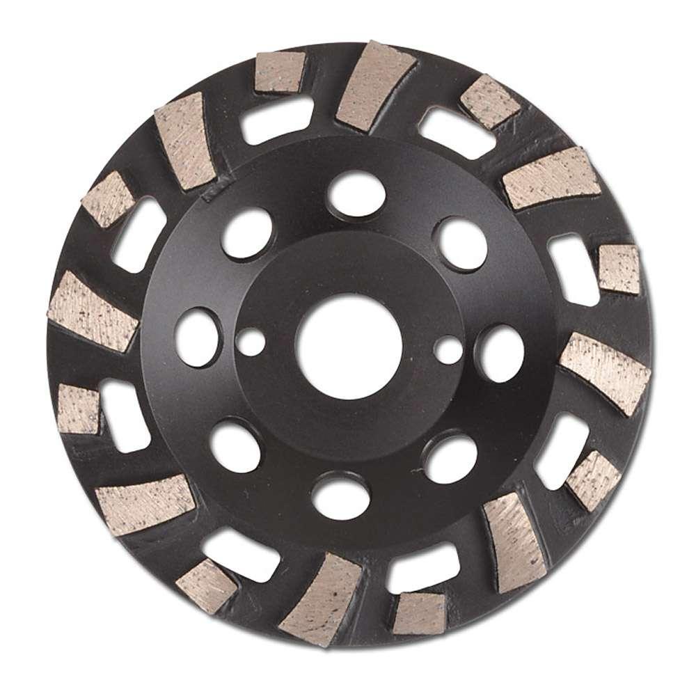Schleiftopf Diamant fächerförmig - für Estrich, Sandstein, Putz, abrasive Erzeug