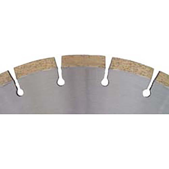 Diamanttrennscheibe  für Marmor - 10 mm Segmenthöhe - gelötet Typ CD 4805
