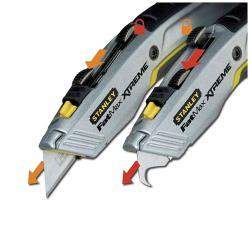 Cuttermesser FatMax - Twin Blade - Haken und Trapezklinge - Stanley