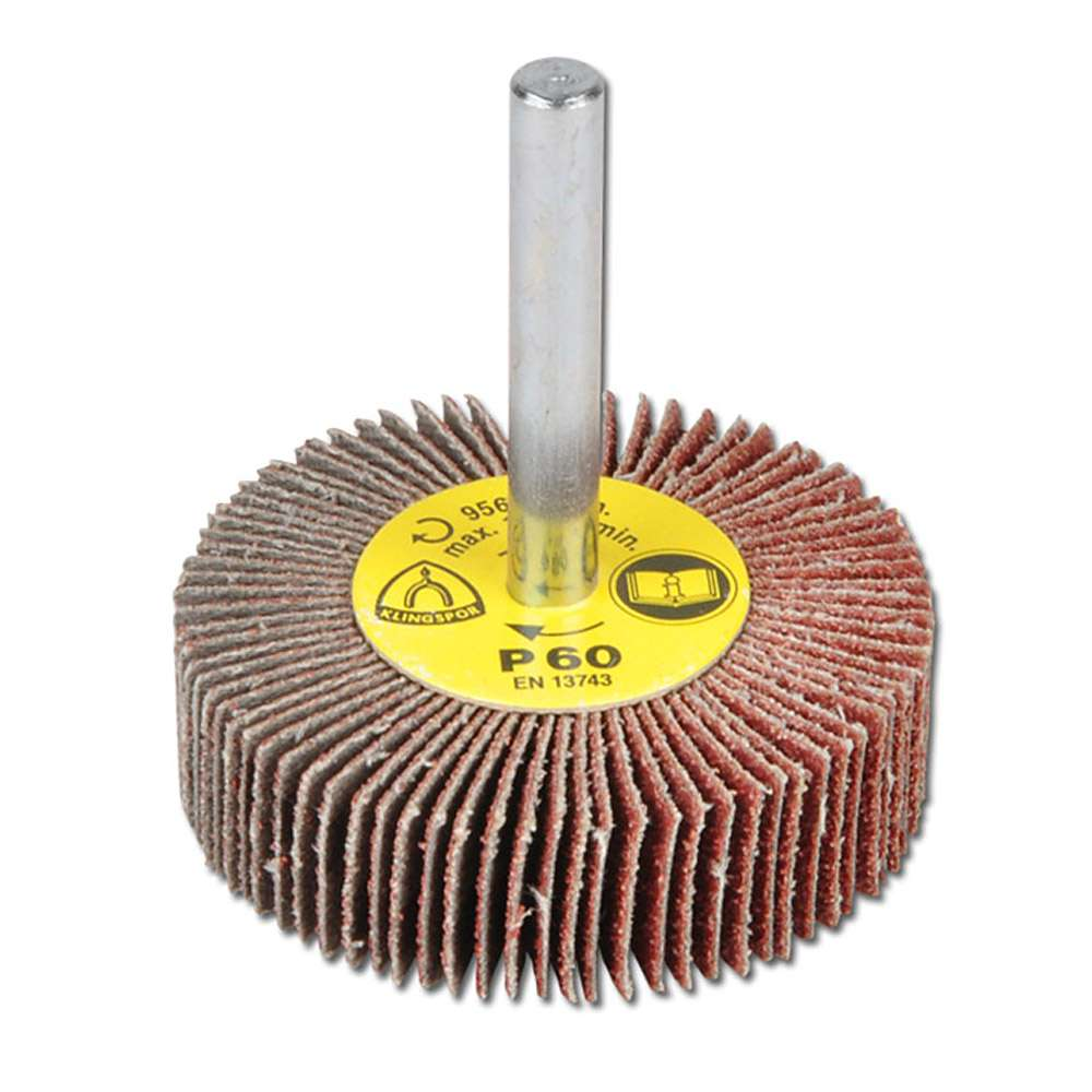 Slipborste - KM 613 - med 6 mm skaft - för metall