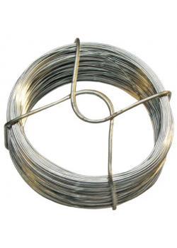 Bindedraht - (Länge x Stärke) 50 m x 0,7 mm - verzinkt