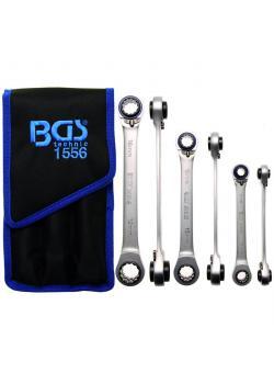 Spärrringnyckel set - 4 i 1 - SW 8 mm x 9 mm till 18 mm x 19 mm - 3 st