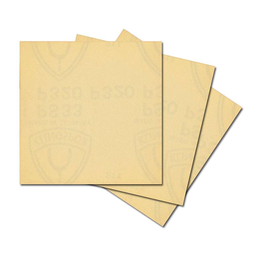 Schleifpapier Blatt - PS 33BK - ungelocht - kletthaft