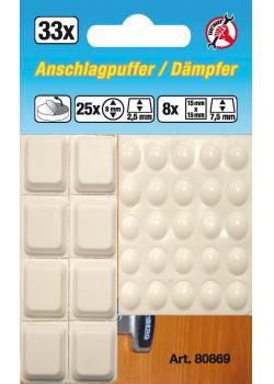 Buffer Set - self adhesive - 33 pcs.