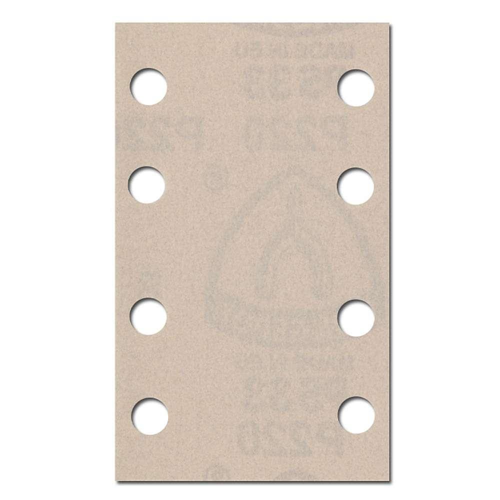Schleifpapier Bogen Lochform GL18 Kletthaftend - Farbe, Lack, Spachtel K40 bis K
