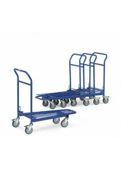 Storage trolley - 300 kg - with handlebar