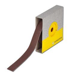 Carta vetrata 25m rotolo K40 a K600 - per legno, acciaio, metallo e acciaio