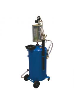 Oil suction - compressed air - with glass container to control the amount of oil - 70 l