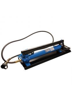 Hydraulic double piston foot pump - 2-speed - 13.8 bar - 700 bar