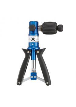 pompa pneumatica pressione - tipo P60 - vuoto -0.95 bar - sovrappressione 60 bar - G¼ con attacco rapido e il tubo a pressione