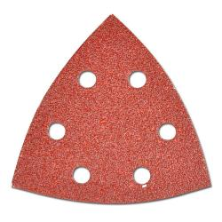 Triangular Sandpaper PS22K - Hole Pattern GLS 15 - Velcrio-adhesive PS22K - For