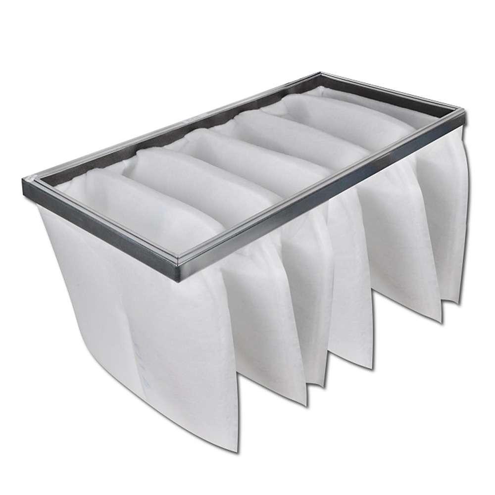 Posefilter Synthetik - filterklasse G4 - dybde 150 til 635mm