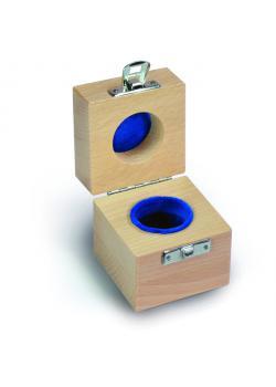 Etui für Prüfgewicht E1 bis F1 -  Einzelgewicht à 5 kg - Holz, gepolstert