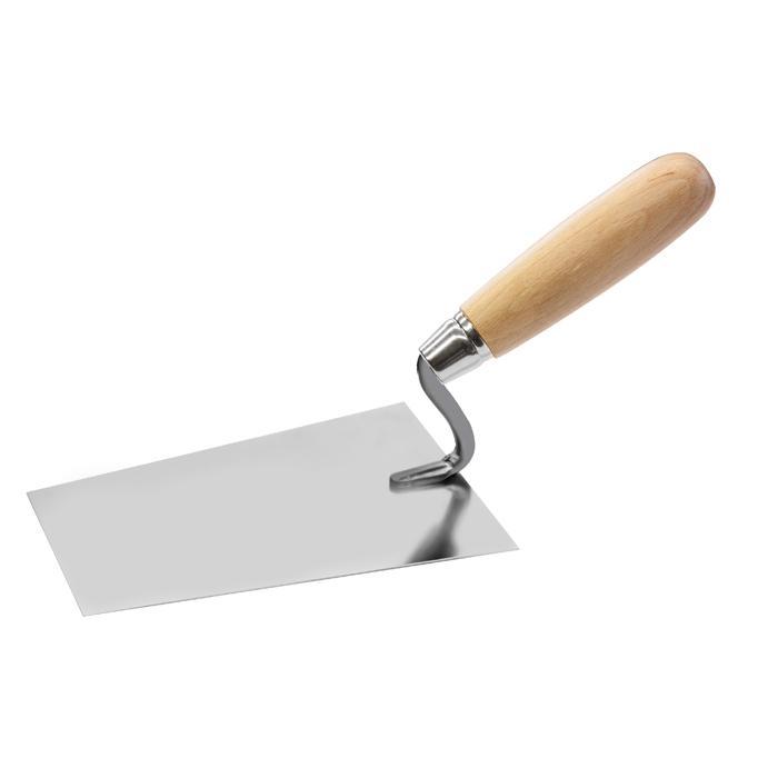 Maurerkelle S-Hals - Holz- oder Profigriff - Größe 160 bis 180 mm