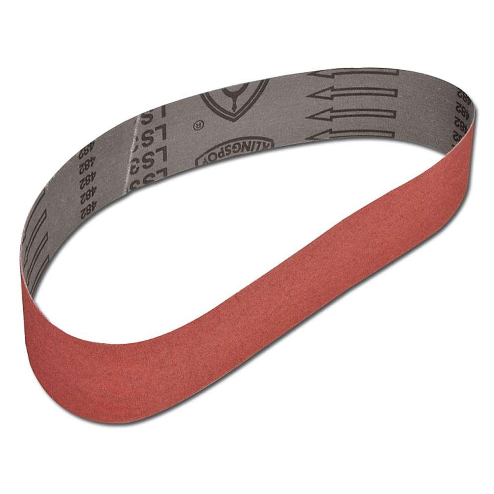 Slipband LS309X - för trä och metall - form 1 - K 40 till K 150