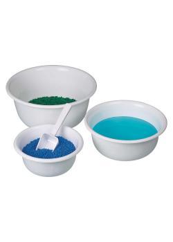 Schüssel sterilisierbar - PP - weiß - Inhalt 0,9 bis 6,6 Liter