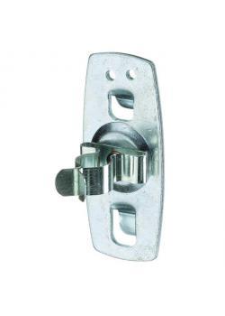 Tool clamp - 31 mm - Ø 12-16 mm - galvanized