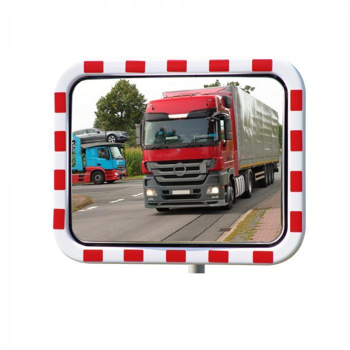 TM Verkehrsspiegel - INOX - rechteckig