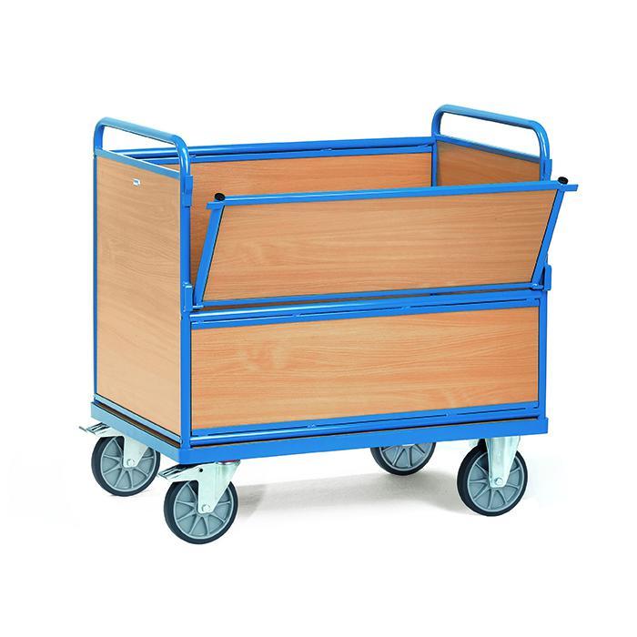 Pannello in legno van - con pareti e il pavimento in legno - 600 kg